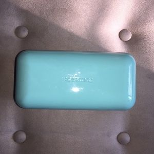 EUC Tiffany & Co Blue Large Sunglasses Case